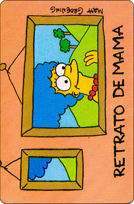Bollycao The Simpsons Cromo 49