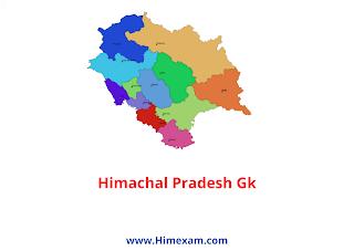 Himachal Pradesh GK 2021