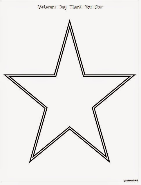 Veterans%2BDay%2BThank%2BYou%2BStar Veterans Day Star Template Thank You Letter on tenants who are, korean war, example honor flight, memorial donation, samples vietnam, honor flight wwii,