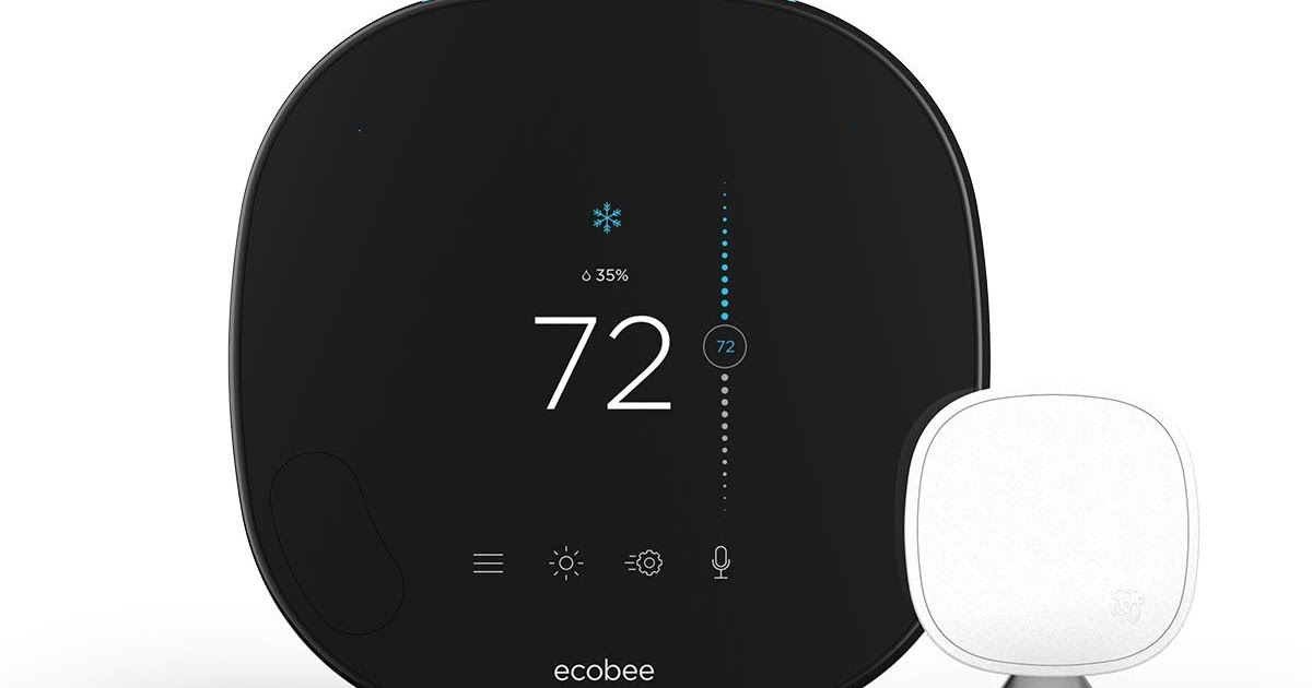 Ecobee smart thermostat – The best thermostat for home 2019