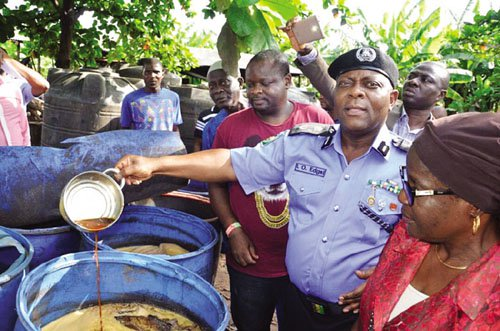 Police Bust Illegal Brewery In Lagos, Five Arrested