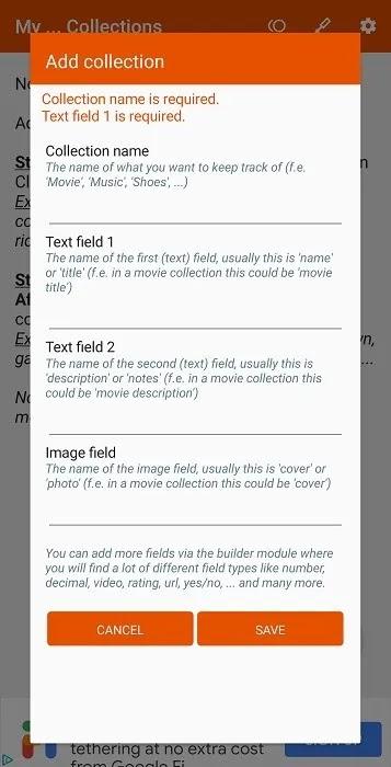 أفضل مجموعة تنظيم تطبيقات Android Tuyware Mycollections
