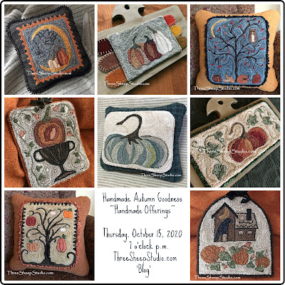 Handmade Autumn Offerings by Rose Clay at ThreeSheepStudio.com
