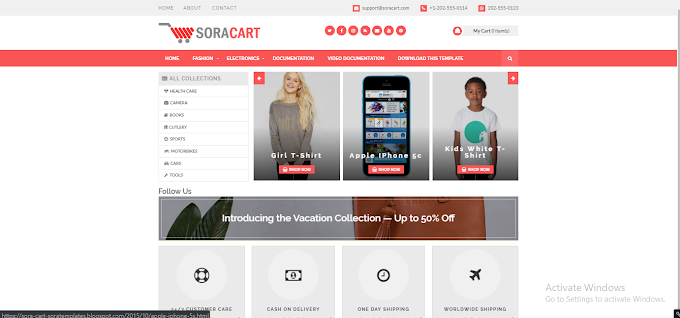 16+ Best Free eCommerce Blogger Templates 2019