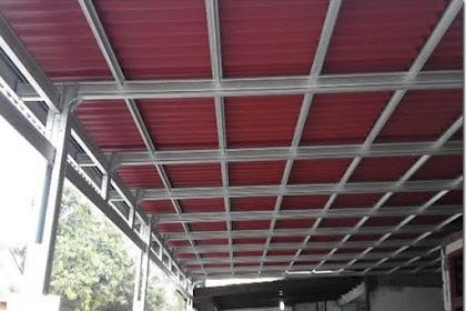 Jasa Pasang Kanopi Atap Spandek Bandar Lampung Harga m2