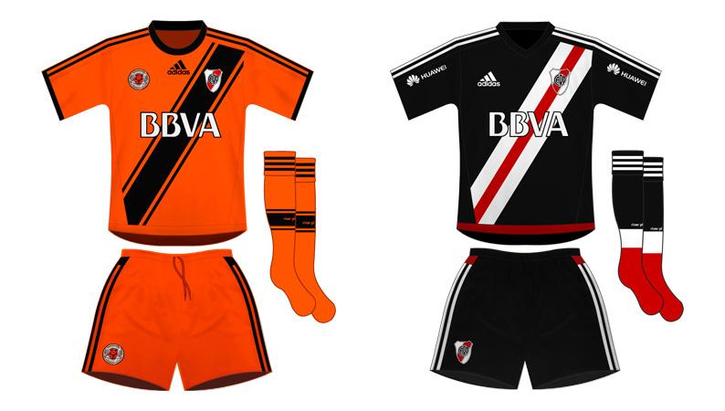¨Nuevas¨ alternativas. Recientes aportes y hallazgos nos muestran que River  Plate usó varios diseños alternativos en la década del 50. c9a33f6c809fd
