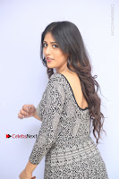Actress Chandini Chowdary Pos in Short Dress at Howrah Bridge Movie Press Meet  0078.JPG