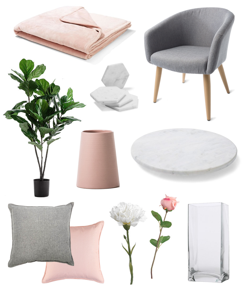 home decor haul blog kmart adairs ikea target