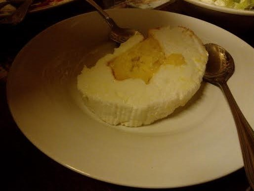 A slice of Brazo de Mercedes at Casa Renato