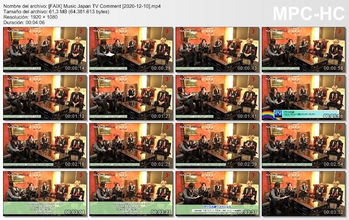 Music Japan TV Comment [2020-12-10]