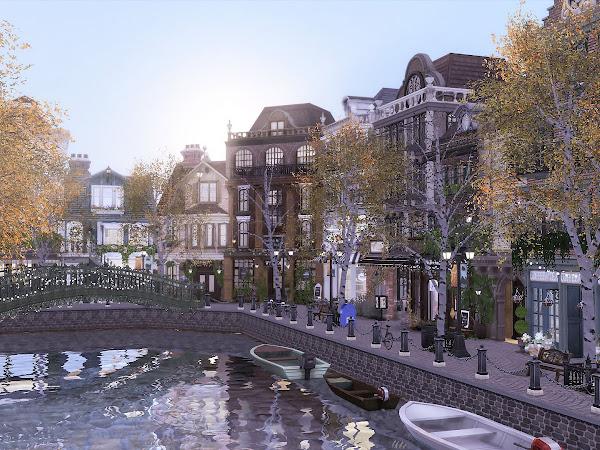 Sims 4 City Living  城市生活