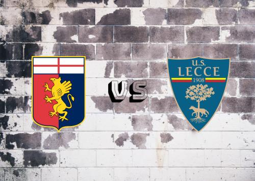Genoa vs Lecce  Resumen