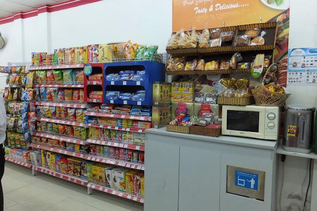 conveniencestore-hcmc ホーチミン市のコンビニ店内