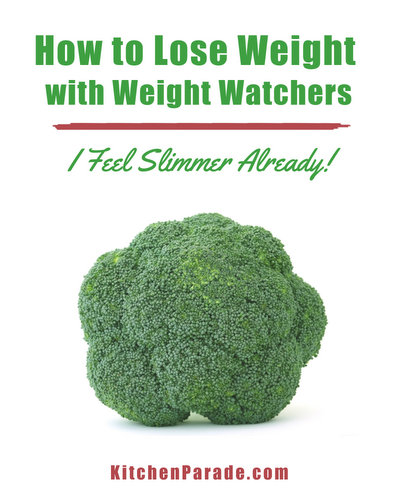 How to Lose Weight With Weight Watchers ♥ KitchenParade.com. Practical tips, resources & recipes.