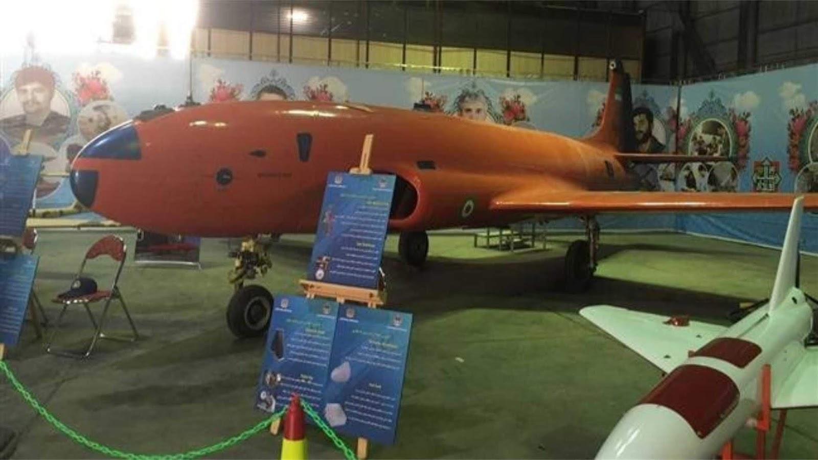 Angkatan Udara Iran meluncurkan drone berbadan lebar pertama