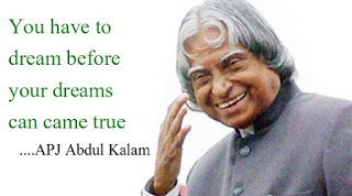 apj abdul kalam quotes on dream