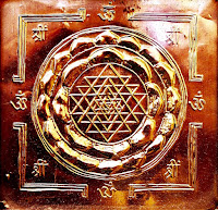 Shri_Yantra, a physical presentation of the cosmos by Hinduism