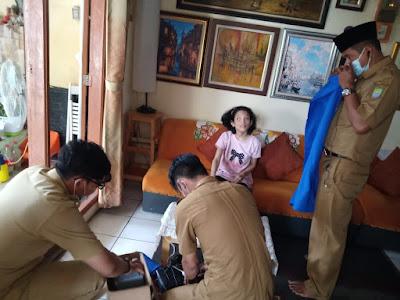 Layanan Prioritas Kecamatan Larangan Rekam e-KTP Untuk Penyandang Disabilitas dan Lansia,Korantangsel.com