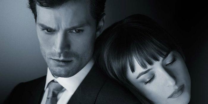 Christian Grey and Anastasia Steele