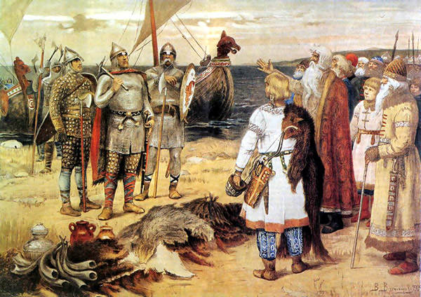 Vikings in Russia