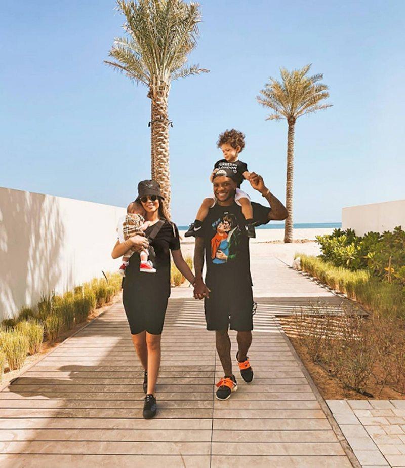 Marta Radic habla de su vida en Dubai con Junior Fernandes