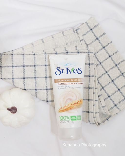 ST Ives Nourished and Smooth Oatmeal Scrub plus Mask