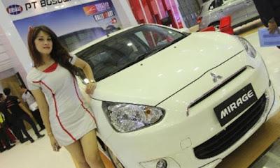 Jual Mobil Baru Mitsubishi Mirage dan Spesifikasinya