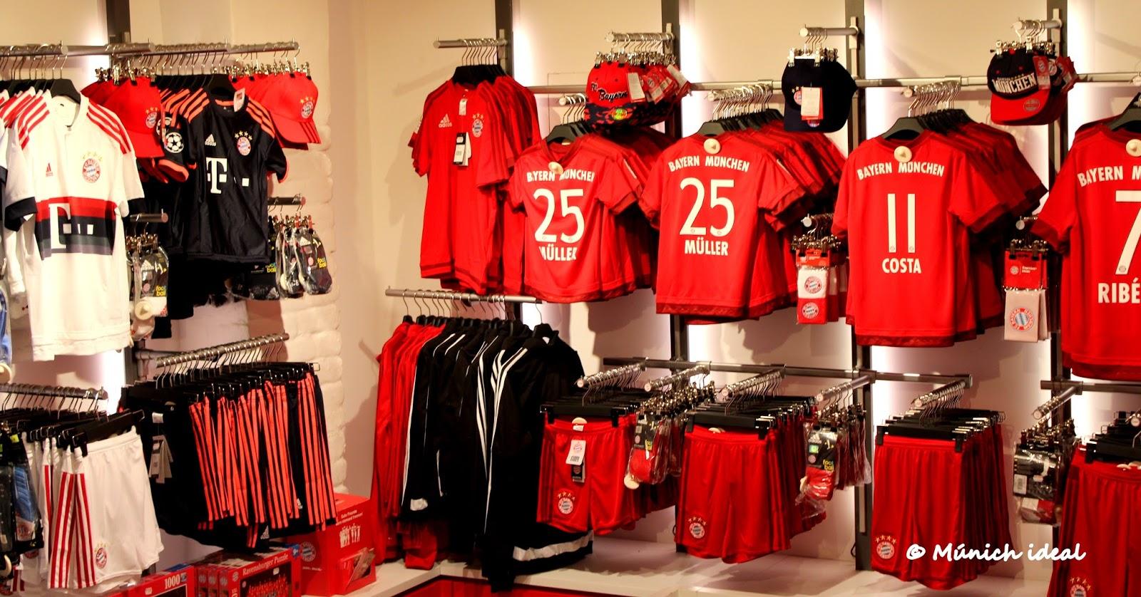 FC Bayern Fan-Shop En Mu00fanich