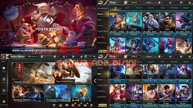 Download AOV Pentastrom Server Korea Patch Indonesia 1.19.1.1 Full