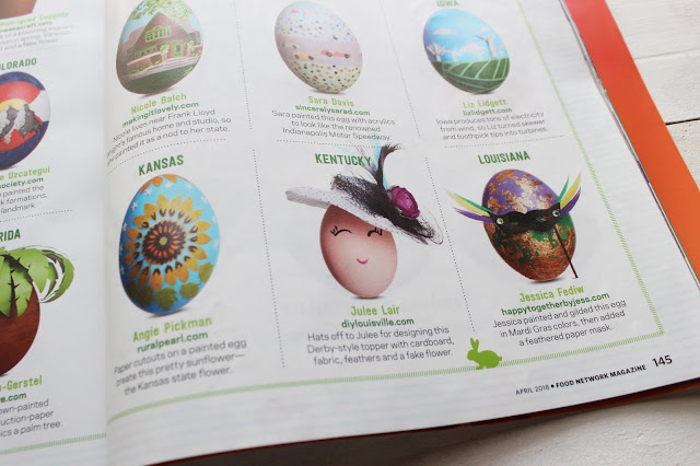 Kentucky Derby Easter Egg