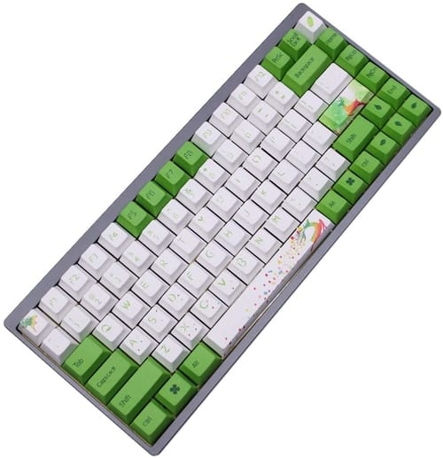 Review ONECAP ONECAP Forest Keycap Cherry Profile Keyboard