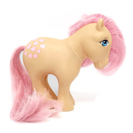 MLP Peachy Year Two Playset Ponies I G1 Pony