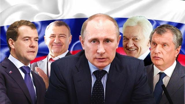 Друзья-миллиардеры Владимира Путина