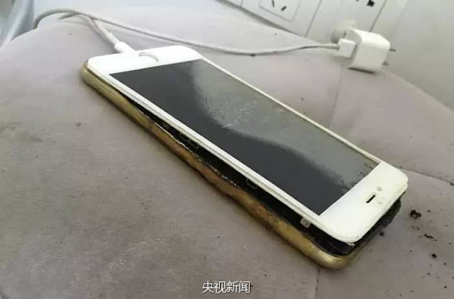 Chinese users report iPhone fires
