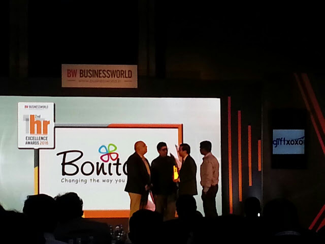 Bonita India Bags Business World Award for Best Emerging HR Strategy
