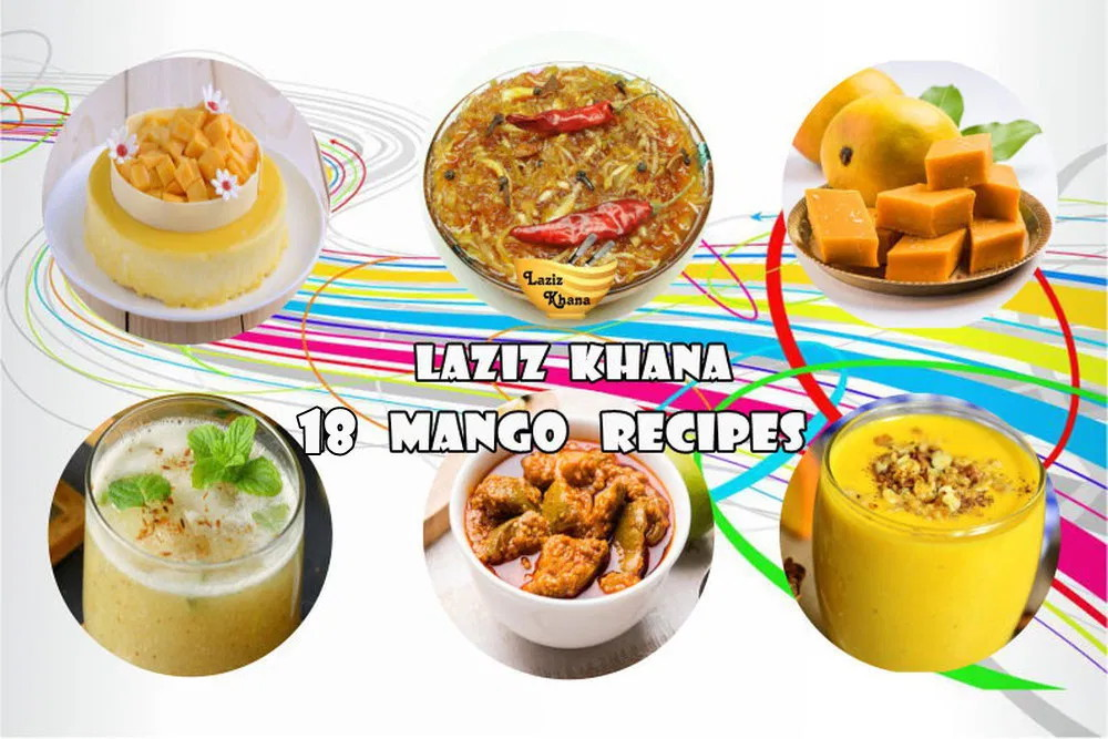 Mango Recipes in Hindi