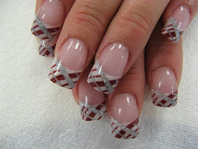 Womens World Nail Art For New Year