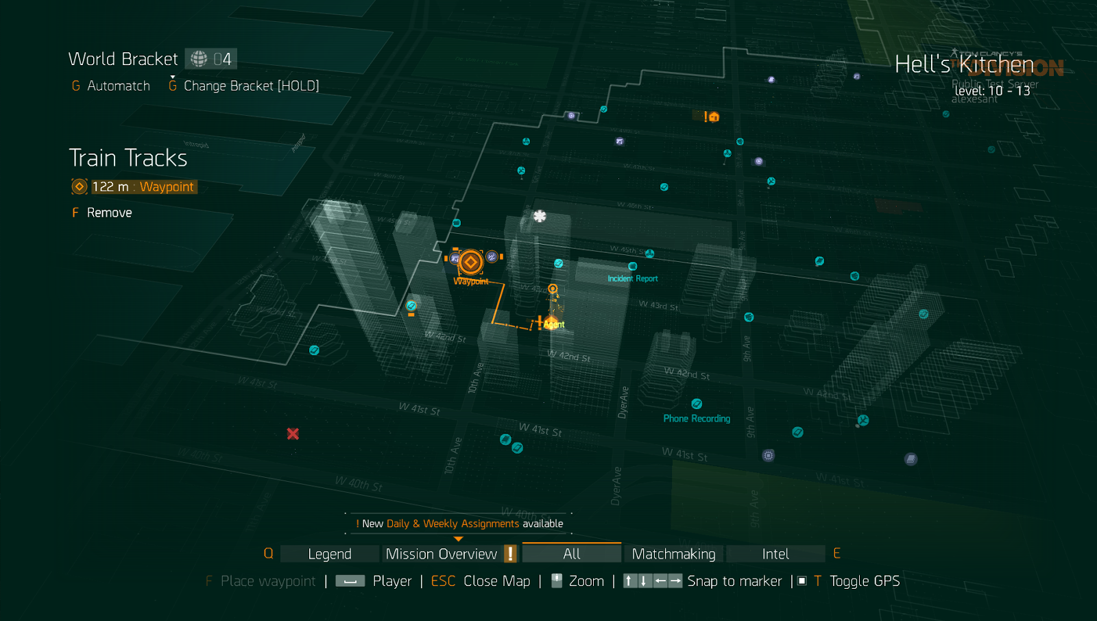 Map Of World Bosses In The Division.The Division Roaming Bosses Map Locations Open World In Patch