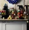 Διακοσμήσεις - Συνθέσεις με Χριστουγεννιάτικες Μπάλες