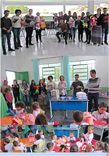 Prefeitura de Miracatu entrega materiais e uniformes para alunos das creches municipais