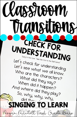 Here are 5 transitions you can use to help your students stay on task and maintain good classroom management.