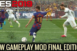 New Gameplay Patch FINAL For - PES 2019