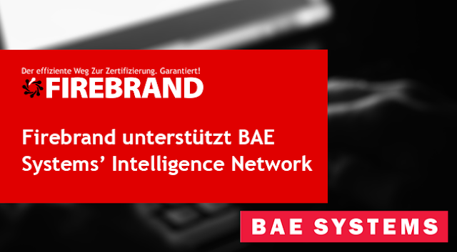 Firebrand unterstützt BAE Systems' Intelligence Network