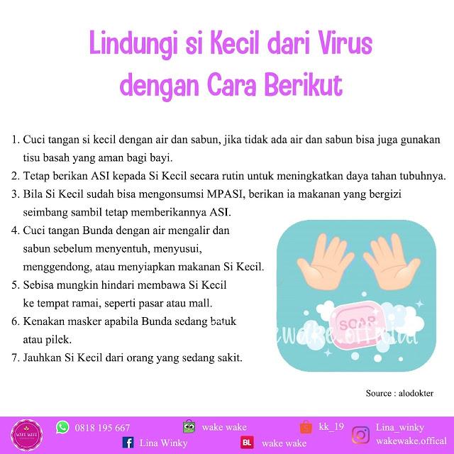 Cara Melindungi si Kecil dari Virus