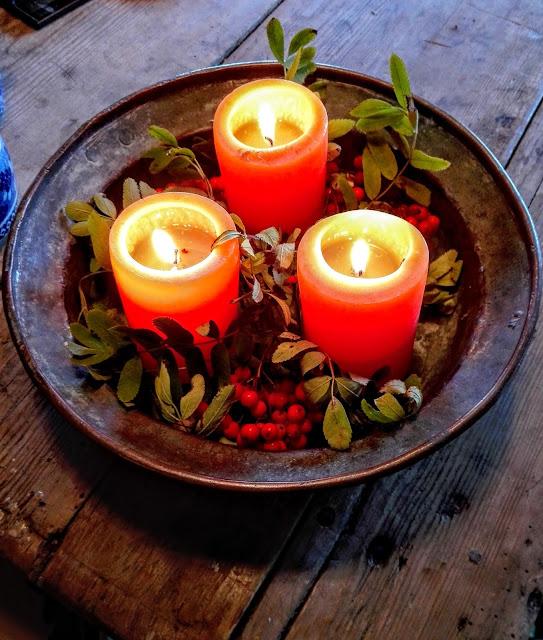 Kynttilävati, syksy, ilta, Antiikki Makasiini