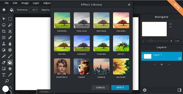 Beragam FIlter atau Efek Foto Online Terbaru