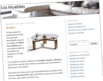 Vista el blog Los Muebles en 2019