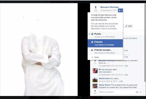 Cara Mengunci dan Menyembunyikan Gambar Profil di Facebook  3