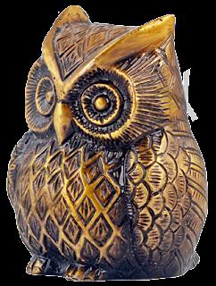 Owl Bird Brass-Home Decor