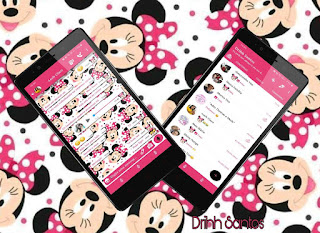 Branco Minnie Theme For YOWhatsApp & Fouad WhatsApp By Driih Santos